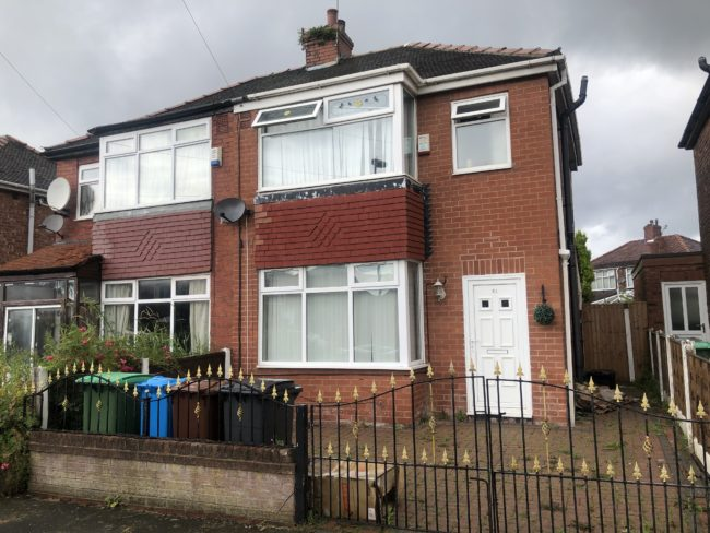 Three bedroom house to let in Scholes Drive, Moston