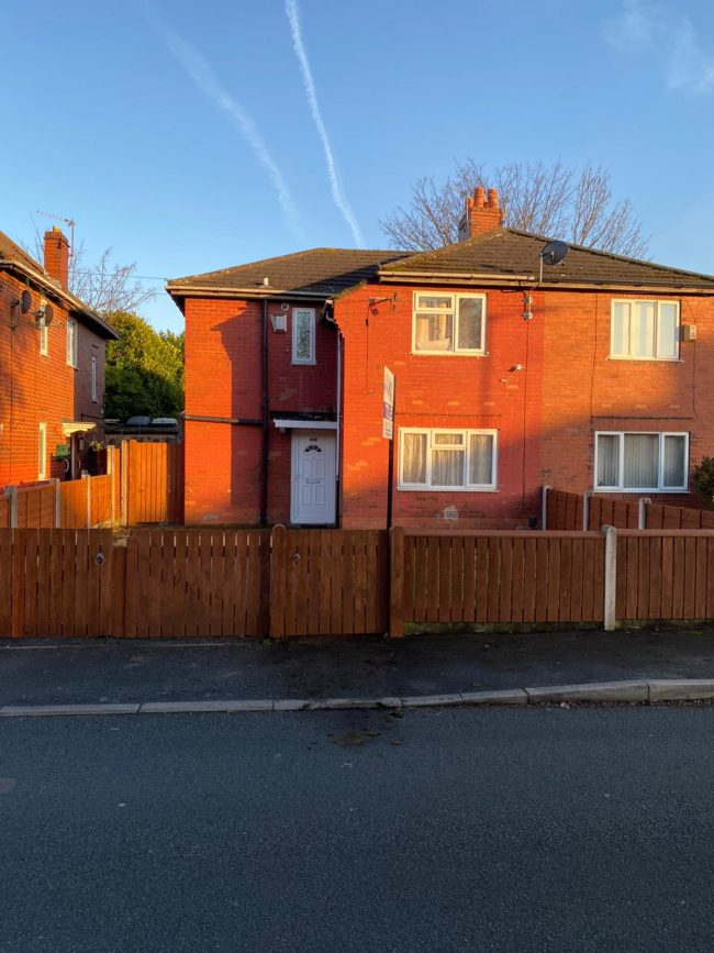 Large three bedrooms, 2 reception property in M14